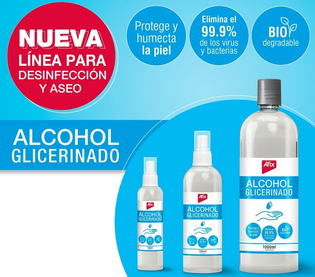 Alcohol Glicerinado