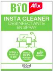 Instacleaner - Spray, se suspende en el aire. Todas las superficies.